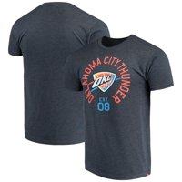 Oklahoma City Thunder Sportiqe Comfy Super Soft Tri-Blend T-Shirt - Navy