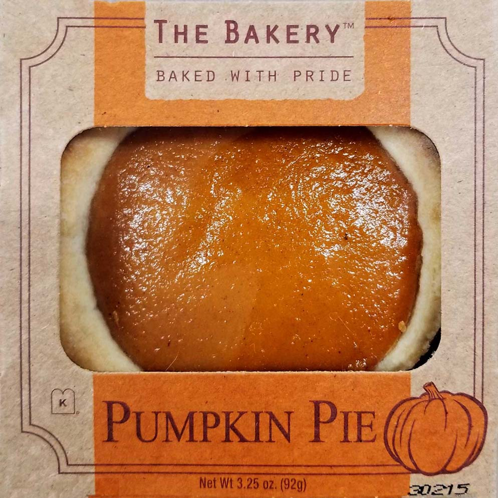 The Bakery Pumpkin Mini Pie