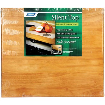 Camco Oak Accents Universal Silent Top, 19-1/2