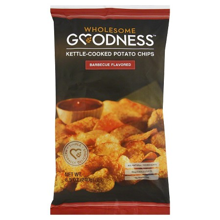 Wholesome Goodness Barbeque Flavored Kettle-Cooked Potato...