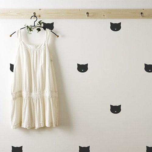 Urban Walls Cats Wall Decal