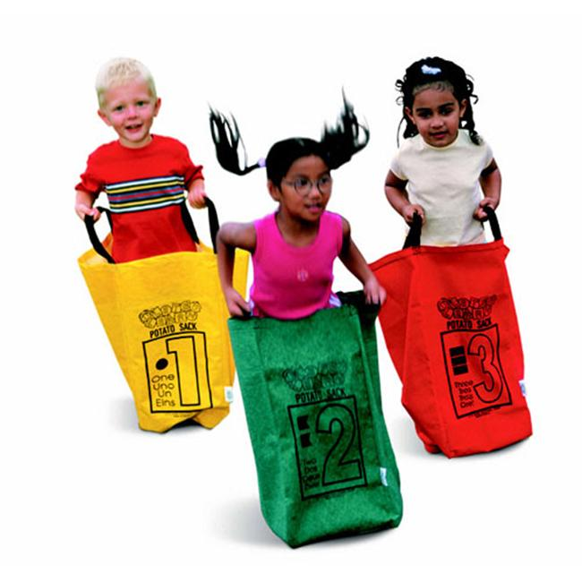 LEARNING CARPETS/LETS LEARN & PLAY LLT131 POTATO SACKS 6