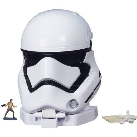 Star Wars The Force Awakens Micro Machines First Order Stormtrooper Playset - Star Wars 7 Leia
