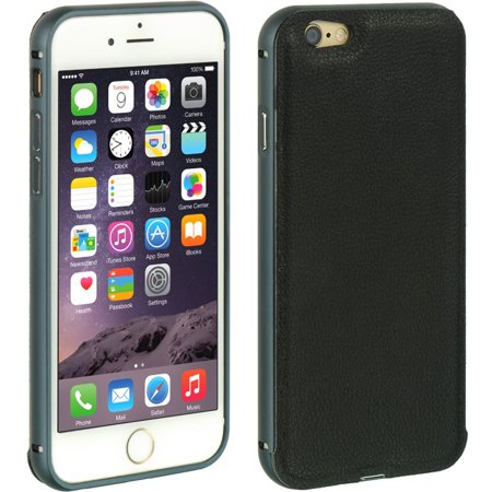 Insten Hard Hybrid TPU Case for Apple iPhone 6 / 6s - Black - image 5 de 5