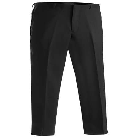 Edwards Garment Men's Flat Front Wrinkle Resistant Dress Pant, Style - Heathered Dress Pants