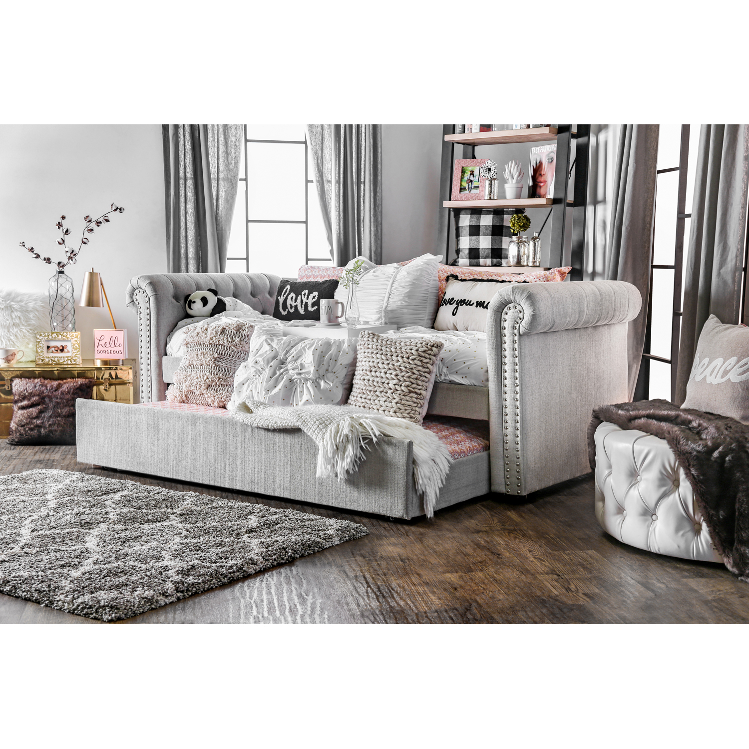 Furniture Of America Belassio Twin Daybed With Trundle