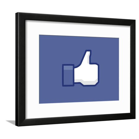Thumbs Up or Down Framed Poster Wall Art](Thumbs Up And Thumbs Down)