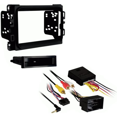 Metra 99-6518B Single/Double Din Installation Kit w/ Pocket for 2013 Dodge Ram AXXESS XSVI-6523-NAV - NAV Interfaces
