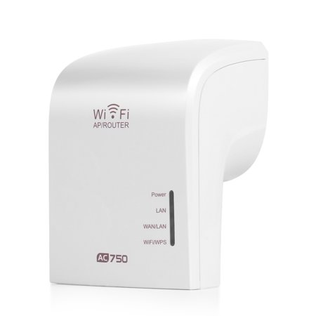 Dual Band Wi-Fi Range Extender Wireless Repeater Router with Ethernet Port Wall Outlet - WiFi Amplifier Wireless Access Point AP Signal Booster Antenna IEEE 802.11n/g/b 802.11ac (Wireless Access Point Wall)