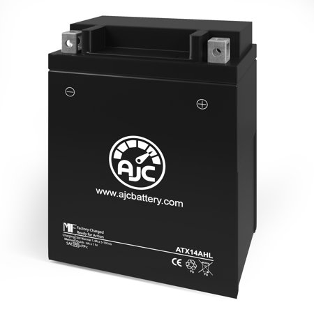 Motocross Desmo 500CC Motorcycle Replacement Battery - This is an AJC Brand Replacement - image 1 of 4