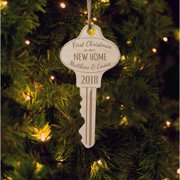 First Christmas In New Home Personalized Wood Ornament