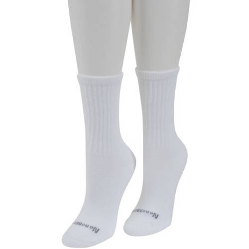 No Nonsense Women's Soft and Sensible Crew Socks, 6pk
