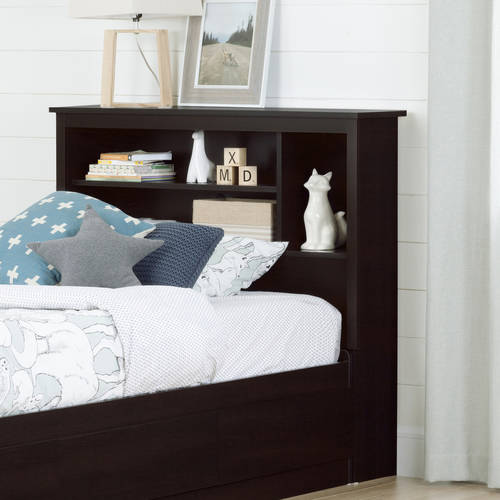"South Shore Vito Twin Bookcase Headboard, 39"", Multiple Finishes"
