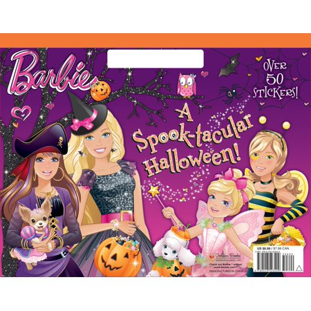 A Spook-tacular Halloween! (Barbie) (Spooktacular Halloween Words)