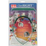 Donegan Optical OptiSIGHT Magnifying Visor, Green W/Three Lens Plates