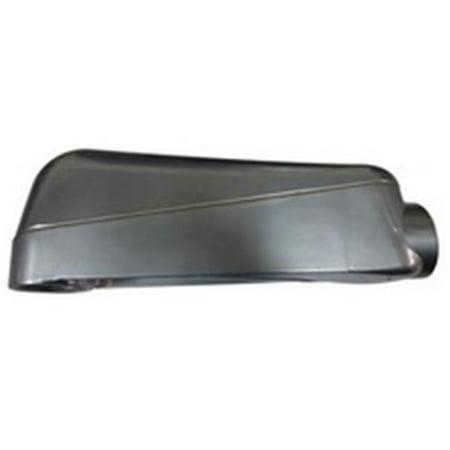 Morris 14301 Aluminum Mogul Conduit Bodies with Cover & Gasket, 1.5 in. - image 1 de 1