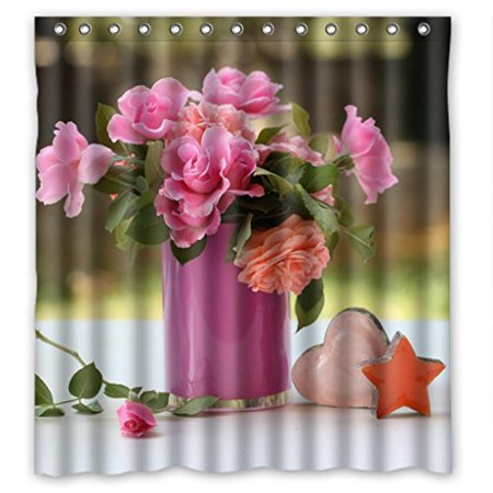 GreenDecor Artistic Tender Beautiful Flowers Waterproof