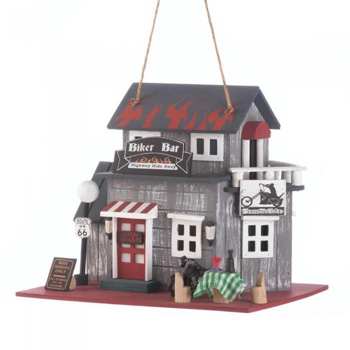 Bird Houses Outdoor, Decorative Wooden Bird Houses, Hummingbird Bar Birdhouse