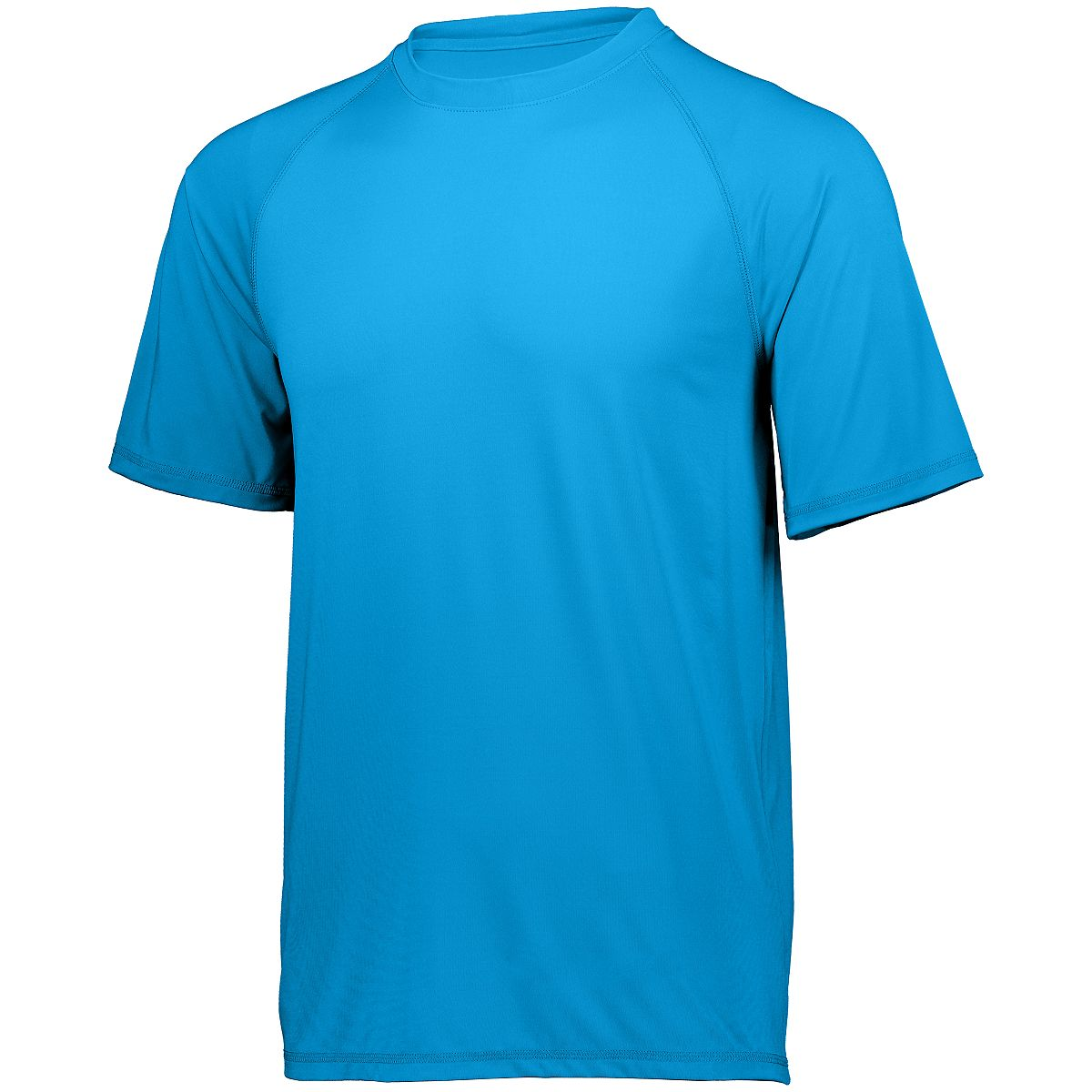 Holloway Swift Wicking Shirt Brt Blue L - image 1 of 1