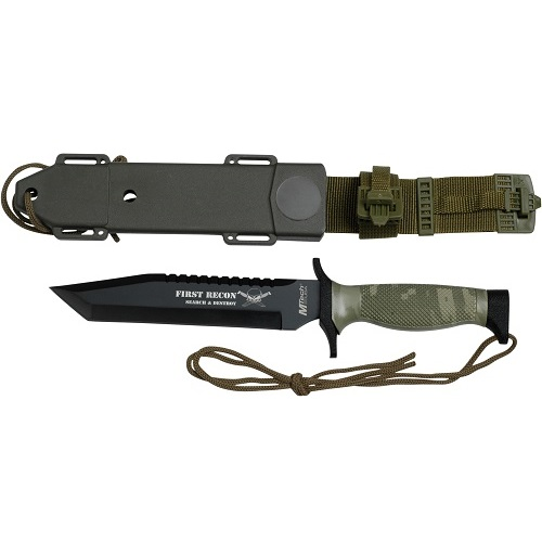 MTech MT-676TC Fixed Blade 12 In Overall
