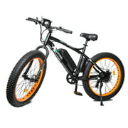 "Ecotric 26"" 36V 500W Fat Tire Electric Bicycle 26X4"" Removable Battery 7-Speed"