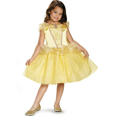Belle Classic Girls Costume - Belle And The Beast Halloween Costumes