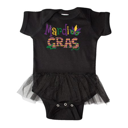 Argyle Mardi Gras Infant Tutu -