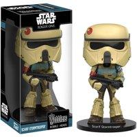 Funko Wobbler: Star Wars Rogue One Scarif Stormtrooper Action Figure