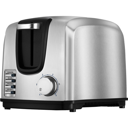 Black & Decker 2-Slice Toaster, Stainless Steel