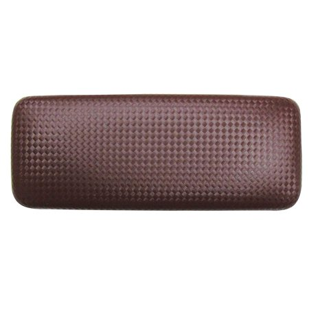 - Glasses Case For Men & Women, Large Hard Shell Eyeglass Case, Diamond Weave, Brown/Black