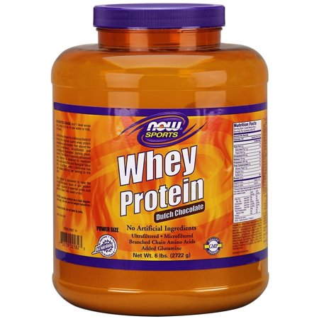 NOW Foods Sport Whey Protein Chocolat Néerlandais 6 Lb