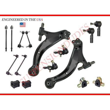 16PC Complete Front Suspension Lower Control Arm Kit for Toyota Avalon Solara