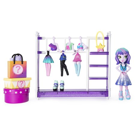 Off The Hook Style Studio, Fashion Fun Playset with 4-inch Small Doll and Fashions and Accessories, for Girls Aged 5 and Up