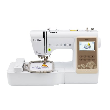 - Brother SE625 Combination Computerized Sewing and 4x4 Embroidery Machine with Color LCD display, 280 Total Embroidery Designs