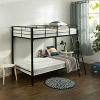 Deals on Slumber 1 Comfort 6-in Twin Pack Bunk Bed Spring Mattres