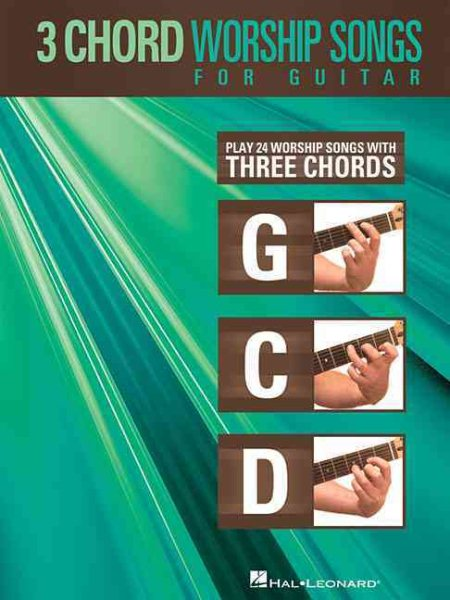 3-Chord Worship Songs for Guitar by