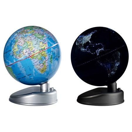 Waypoint Geographic Earth By Day   Night 8 5 In  Diam  Desk Globe