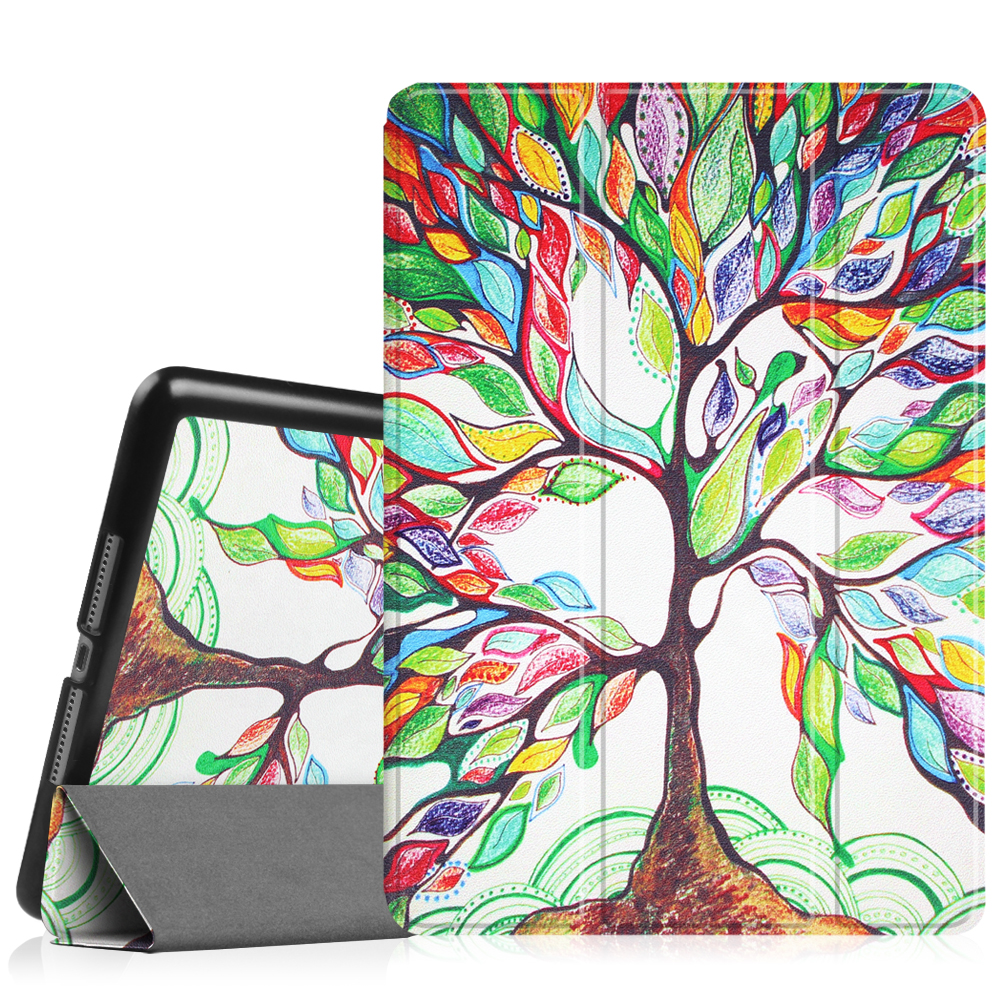 Fintie iPad 9.7 Inch 2018 / 2017 Case, SlimShell Cover for iPad 6th Gen / 5th Gen /iPad Air 2 / iPad Air, Love Tree