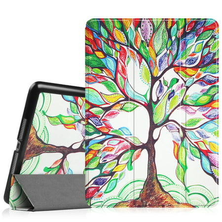 Fintie iPad 9.7 Inch 2018 / 2017 Case, SlimShell Cover for iPad 6th Gen / 5th Gen /iPad Air 2 / iPad Air, Love (Best Ipad Air 1 Case)