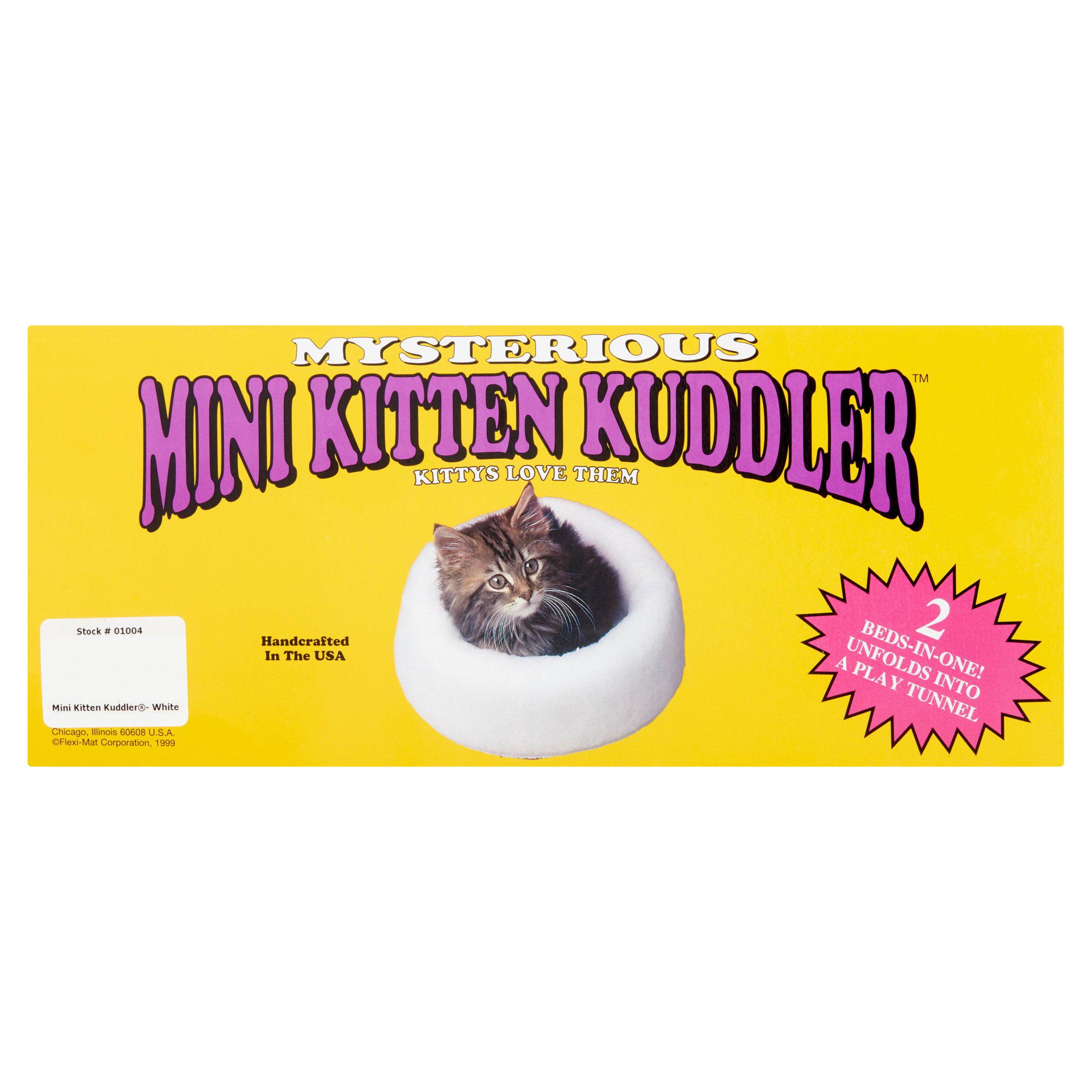 Mysterious Mini Kitten Kuddler & Play Tunnel White Cat Bed
