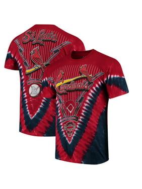 0cf7c3c3571 Product Image St. Louis Cardinals Tie-Dye T-Shirt - Red. Liquid Blue