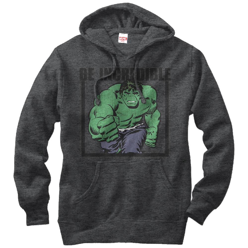 Marvel Men's Hulk Be Incredible Hoodie