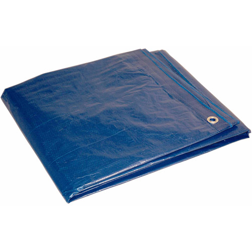 Foremost Tarp 12' x 16' Blue Dry Top Polyethylene Tarpaulin