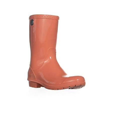 1781eb04310 UGG Australia Sienna Mid-Calf Rain Boots, Vibrant Coral   Walmart Canada