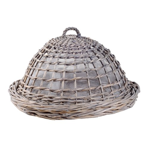Established 98 Wicker Tray and Dome Cover Set by Established 98