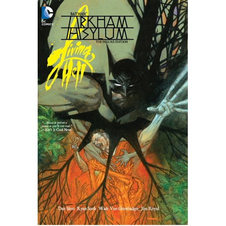 Batman: Arkham Asylum Living Hell, the Deluxe Edition - Straitjacket Asylum
