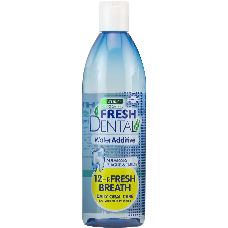 Fresh Dental 330078 18 Fluid oz Naturel Promise Fresh Dental Water Additive For Pets