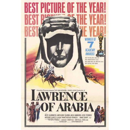 Lawrence of Arabia POSTER (27x40) (1963) (Style C) (Arabian Sheik Costume)