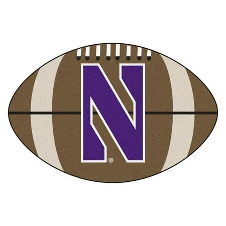 - Northwestern Football Rug 20.5