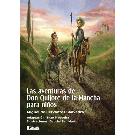 Las aventuras de Don Quijote de la Mancha para niños -